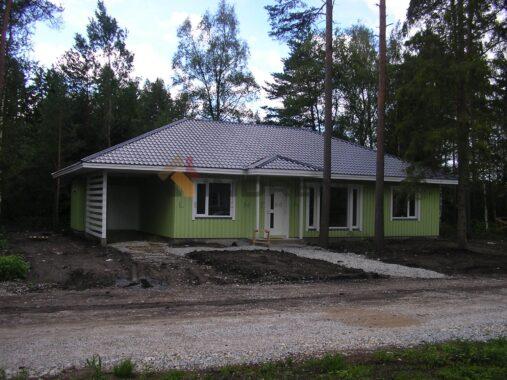 IE133-1 Saunaga valminud maja